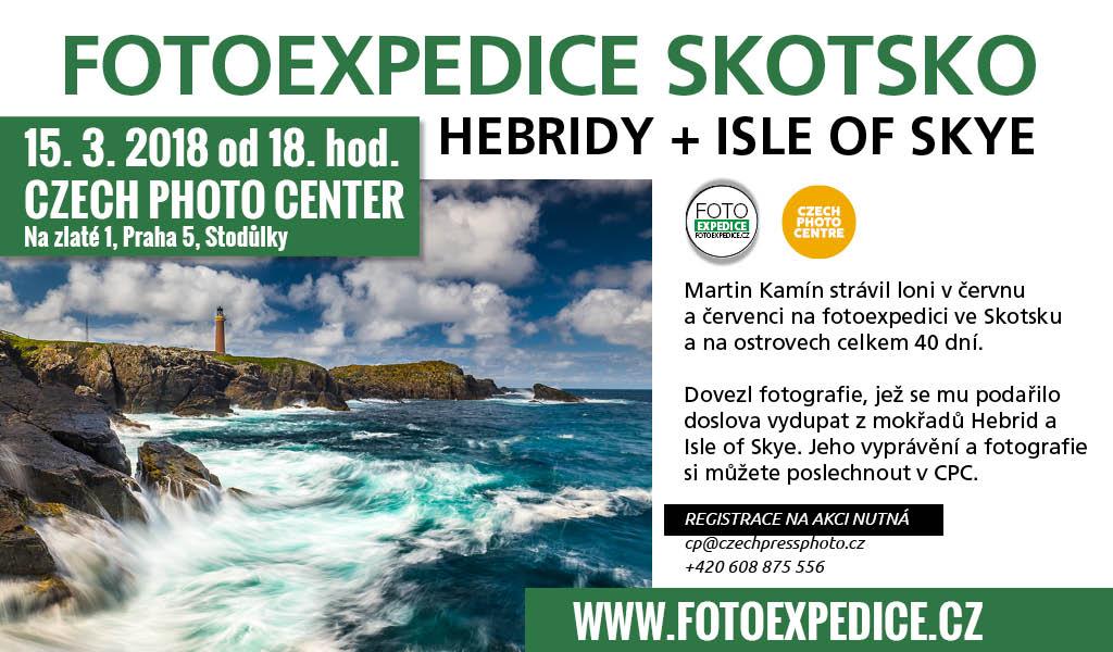 Fotoexpedice Skotsko, autorské promítání