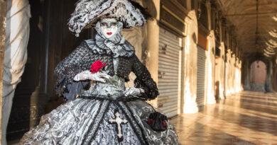 Fotoexpedice Benátský karneval Martin Kamín
