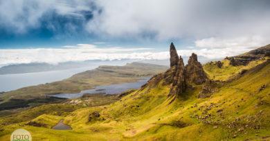 Fotoexpedice Skotsko Man of Storr šedý neutrální filtr a šedý přechodový filtr