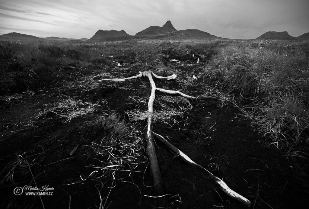 Fotoexpedice Skotsko velká hloubka ostrosti a skládaná fotografie