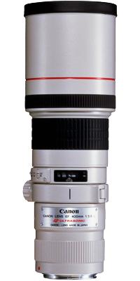 Tipy na objektivy Objektiv Canon EF 400 mm 5.6.